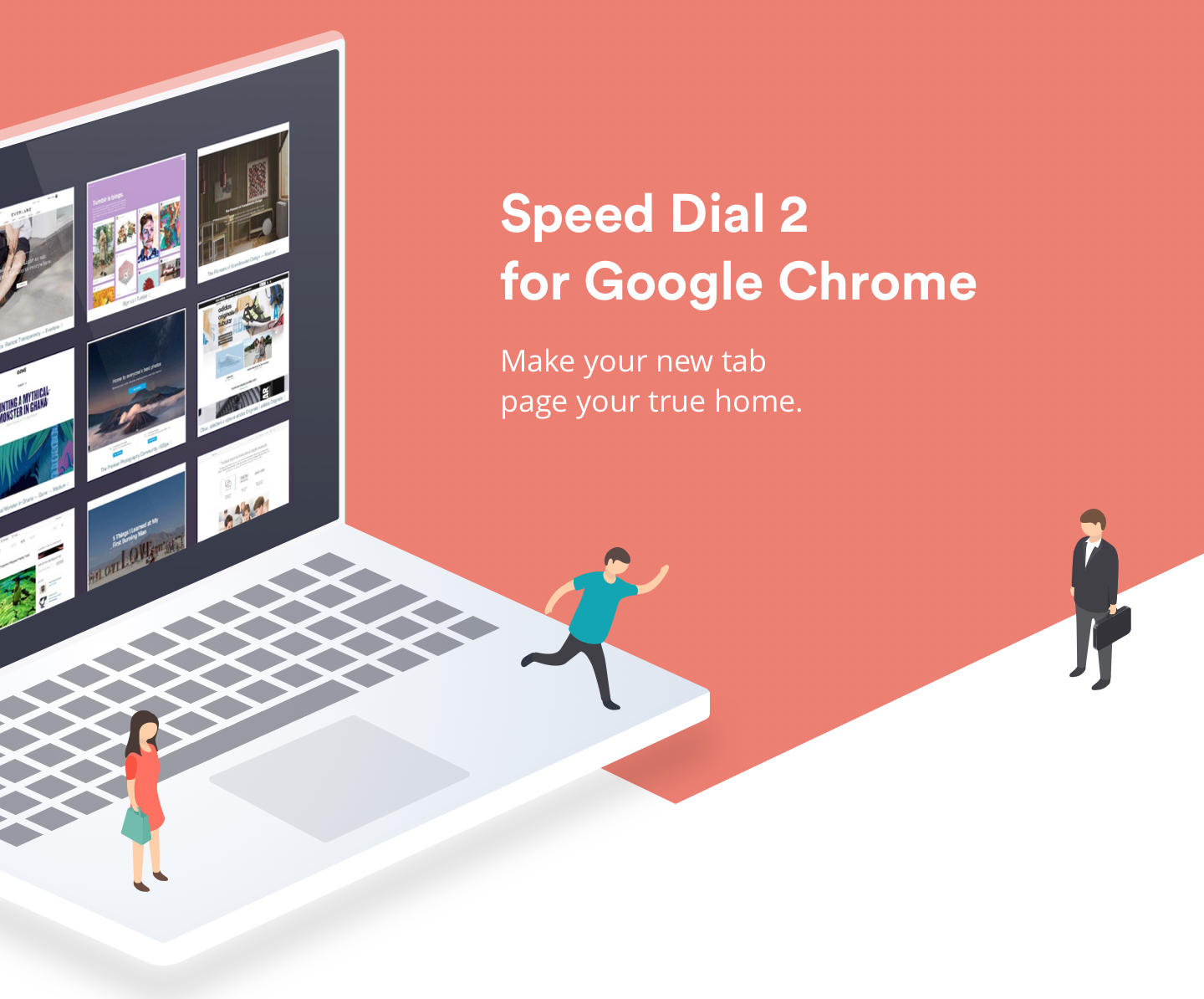 New tab page extension for Google Chrome and Firefox - Speed Dial 2